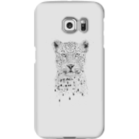 Balazs Solti Leopard Phone Case for iPhone and Android - Samsung S6 Edge - Snap Case - Gloss - Leopard Gifts