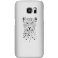 Balazs Solti Leopard Phone Case for iPhone and Android - Samsung S7 - Snap Case - Gloss - Leopard Gifts