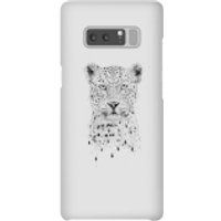 Balazs Solti Leopard Phone Case for iPhone and Android - Samsung Note 8 - Snap Case - Gloss - Leopard Gifts