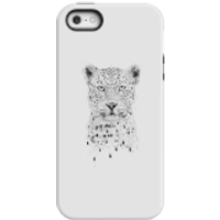 Balazs Solti Leopard Phone Case for iPhone and Android - iPhone 5/5s - Tough Case - Gloss - Leopard Gifts