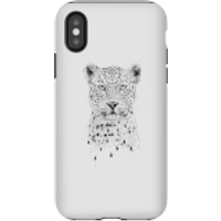 Balazs Solti Leopard Phone Case for iPhone and Android - iPhone X - Tough Case - Gloss - Leopard Gifts