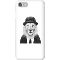Balazs Solti Monocle Lion Phone Case for iPhone and Android - iPhone 7 - Snap Case - Matte