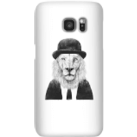 Balazs Solti Monocle Lion Phone Case for iPhone and Android - Samsung S7 - Snap Case - Matte