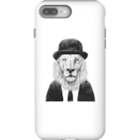 Balazs Solti Monocle Lion Phone Case for iPhone and Android - iPhone 8 Plus - Tough Case - Matte