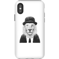 Balazs Solti Monocle Lion Phone Case for iPhone and Android - iPhone X - Tough Case - Matte
