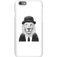 Balazs Solti Monocle Lion Phone Case for iPhone and Android - iPhone 6S - Snap Case - Gloss