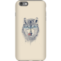 Balazs Solti Wolf Eyes Phone Case for iPhone and Android - iPhone 6 Plus - Tough Case - Matte