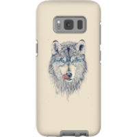 Balazs Solti Wolf Eyes Phone Case for iPhone and Android - Samsung S8 - Tough Case - Gloss