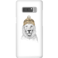 Balazs Solti Lion With Hat Phone Case for iPhone and Android - Samsung Note 8 - Snap Case - Matte