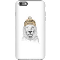 Balazs Solti Lion With Hat Phone Case for iPhone and Android - iPhone 6 Plus - Tough Case - Matte