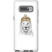 Balazs Solti Lion With Hat Phone Case for iPhone and Android - Samsung Note 8 - Tough Case - Matte