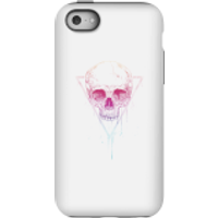Balazs Solti Colourful Skull Phone Case for iPhone and Android - iPhone 5C - Tough Case - Matte