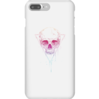 Colourful Skull Phone Case for iPhone and Android - iPhone 7 Plus - Snap Case - Gloss - Colourful Gifts