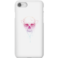 Colourful Skull Phone Case for iPhone and Android - iPhone 8 - Snap Case - Gloss - Colourful Gifts