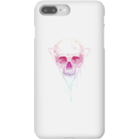 Colourful Skull Phone Case for iPhone and Android - iPhone 8 Plus - Snap Case - Gloss - Colourful Gifts