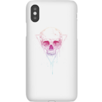 Colourful Skull Phone Case for iPhone and Android - iPhone X - Snap Case - Gloss - Colourful Gifts