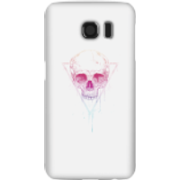 Colourful Skull Phone Case for iPhone and Android - Samsung S6 - Snap Case - Gloss - Colourful Gifts
