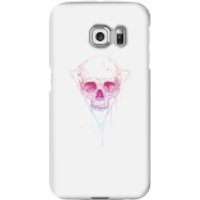Colourful Skull Phone Case for iPhone and Android - Samsung S6 Edge - Snap Case - Gloss - Colourful Gifts
