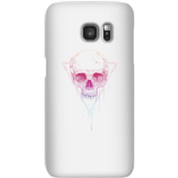 Colourful Skull Phone Case for iPhone and Android - Samsung S7 - Snap Case - Gloss - Colourful Gifts