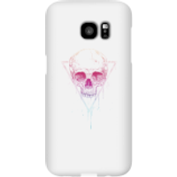 Colourful Skull Phone Case for iPhone and Android - Samsung S7 Edge - Snap Case - Gloss - Colourful Gifts