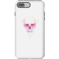 Colourful Skull Phone Case for iPhone and Android - iPhone 7 Plus - Tough Case - Gloss - Colourful Gifts