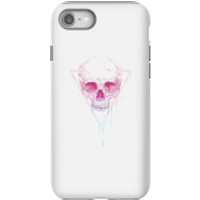 Colourful Skull Phone Case for iPhone and Android - iPhone 8 - Tough Case - Gloss - Colourful Gifts
