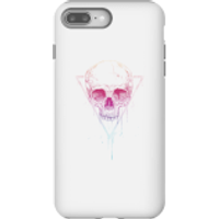 Colourful Skull Phone Case for iPhone and Android - iPhone 8 Plus - Tough Case - Gloss - Colourful Gifts