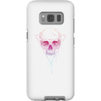 Colourful Skull Phone Case for iPhone and Android - Samsung S8 - Tough Case - Gloss - Colourful Gifts