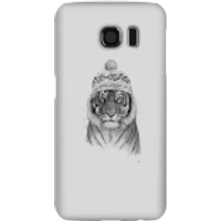 Balazs Solti Winter Tiger Phone Case for iPhone and Android - Samsung S6 - Snap Case - Gloss