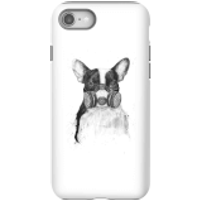 Balazs Solti Masked Bulldog Phone Case for iPhone and Android - iPhone 8 - Tough Case - Gloss