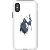 Balazs Solti Singing Wolf Phone Case for iPhone and Android - iPhone X - Tough Case - Matte - Singing Gifts