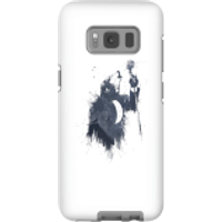 Balazs Solti Singing Wolf Phone Case for iPhone and Android - Samsung S8 - Tough Case - Matte - Singing Gifts