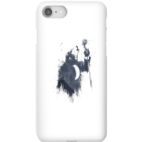 Balazs Solti Singing Wolf Phone Case for iPhone and Android - iPhone 8 - Snap Case - Gloss - Singing Gifts