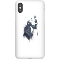 Balazs Solti Singing Wolf Phone Case for iPhone and Android - iPhone X - Snap Case - Gloss