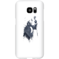 Balazs Solti Singing Wolf Phone Case for iPhone and Android - Samsung S7 Edge - Snap Case - Gloss