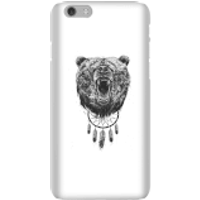 Image of Balazs Solti Dreamcatcher Bear Phone Case for iPhone and Android - iPhone 6 - Snap Case - Matte