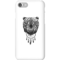 Balazs Solti Dreamcatcher Bear Phone Case for iPhone and Android - iPhone 7 - Snap Case - Matte
