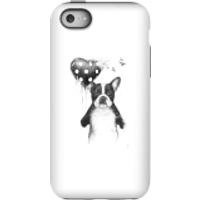 Balazs Solti Bulldog And Balloon Phone Case for iPhone and Android - iPhone 5C - Tough Case - Matte