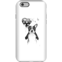 Balazs Solti Bulldog And Balloon Phone Case for iPhone and Android - iPhone 6S - Tough Case - Matte