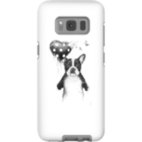 Balazs Solti Bulldog And Balloon Phone Case for iPhone and Android - Samsung S8 - Tough Case - Matte