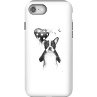 Balazs Solti Bulldog And Balloon Phone Case for iPhone and Android - iPhone 8 - Tough Case - Gloss
