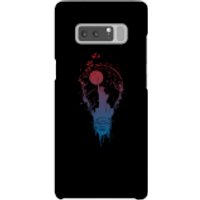 Balazs Solti NYC Moon Phone Case for iPhone and Android - Samsung Note 8 - Snap Case - Gloss - Moon Gifts