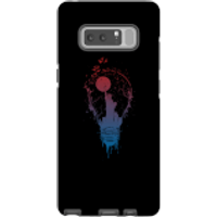Balazs Solti NYC Moon Phone Case for iPhone and Android - Samsung Note 8 - Tough Case - Gloss - Moon Gifts
