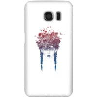 Balazs Solti Native Girl Phone Case for iPhone and Android - Samsung S6 - Snap Case - Gloss - Girl Gifts
