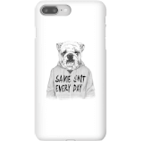 Balazs Solti Same Shit Every Day Phone Case for iPhone and Android - iPhone 8 Plus - Snap Case - Mat