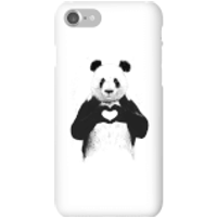 Balazs Solti Panda Love Phone Case for iPhone and Android - iPhone 7 - Snap Case - Gloss - Love Gifts