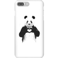 Balazs Solti Panda Love Phone Case for iPhone and Android - iPhone 7 Plus - Snap Case - Gloss - Love Gifts