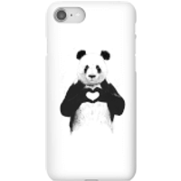 Balazs Solti Panda Love Phone Case for iPhone and Android - iPhone 8 - Snap Case - Gloss - Love Gifts