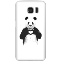 Balazs Solti Panda Love Phone Case for iPhone and Android - Samsung S6 - Snap Case - Gloss