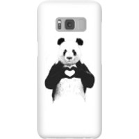 Balazs Solti Panda Love Phone Case for iPhone and Android - Samsung S8 - Snap Case - Gloss - Love Gifts